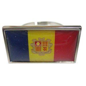 Andorra Flag Fashion Ring